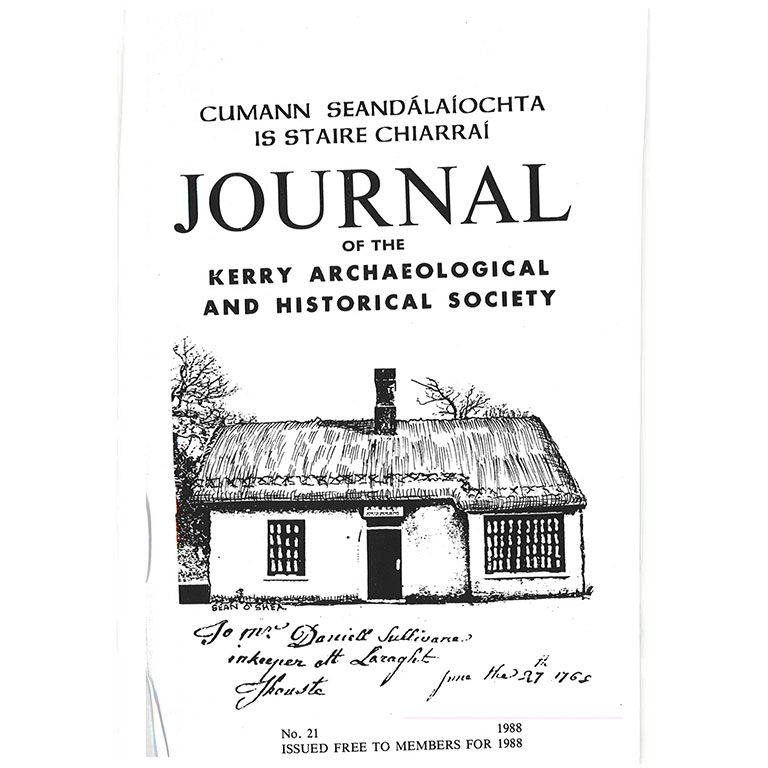 Kerry Archaeological Society Journal - 1988