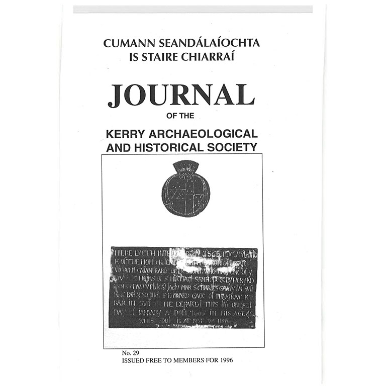 Kerry Archaeological Society Journal - 1996