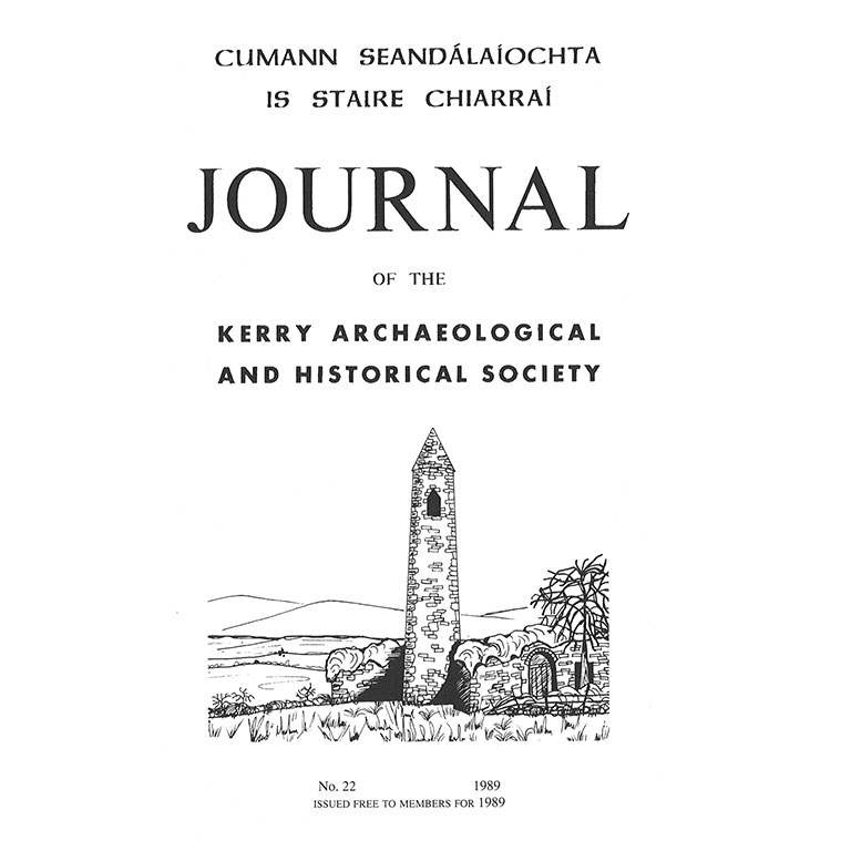 Kerry Archaeological Society Journal - 1989