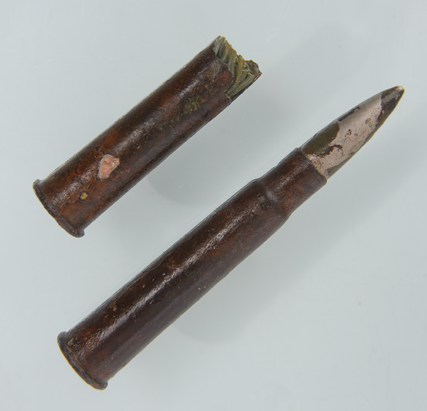 Ammunition from the Aud (Courtesy of Kerry County Museum)