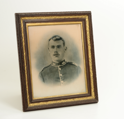 Framed portrait of Maurice O'Connell